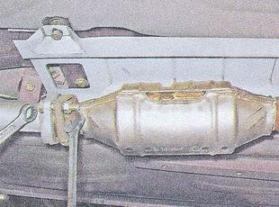 каталитический нейтрализатор ваз 2107