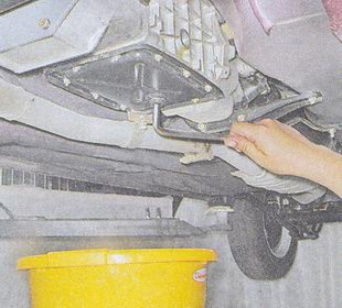 пробка сливного отверстия коробки передач ваз 2107