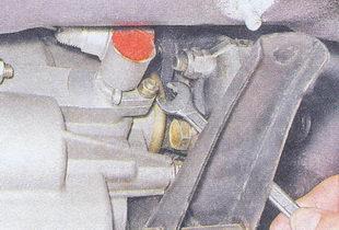 гайка крепления привода спидометра ваз 2107