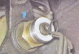 упорное кольцо фланца коробки передач ваз 2107