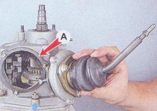 рычага переключения передач - уплотнительная прокладка