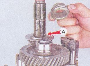 шестерня привода спидометра