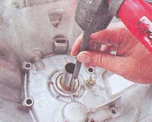 впрессовка сальника первичного вала коробки передач ваз 2107
