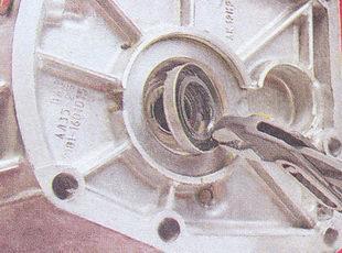 сальник первичного вала коробки передач ваз 2107