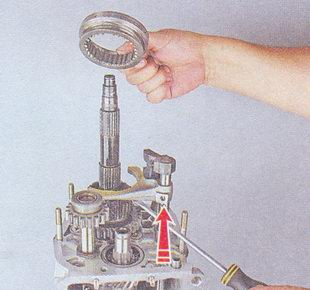 муфта синхронизатора кпп ваз 2107