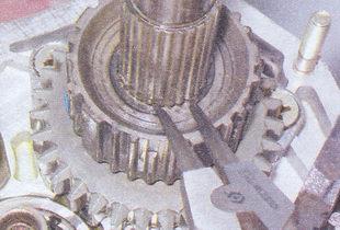 стопорное кольцо ступицы муфты синхронизатора кпп ваз 2107