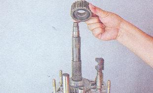ступица вторичного вала кпп ваз 2107