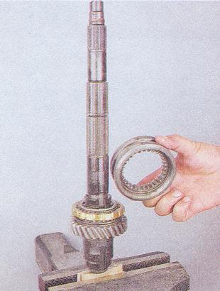 синхронизатор кпп ваз 2107
