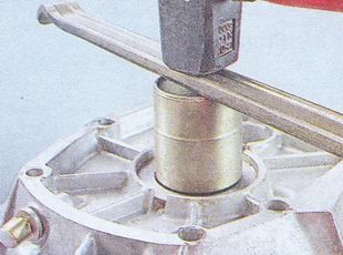 запрессовка сальника первичного вала в переднюю крышку кпп ваз 2107