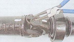 стопорные кольца карданных шарниров