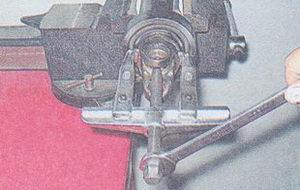 спрессовка карданной вилки