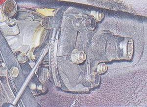 эластичная муфта карданного вала ваз 2107