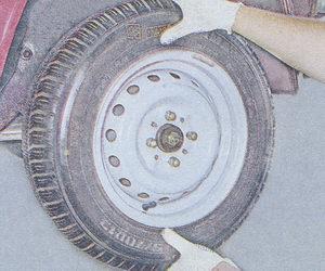 проверка осевого люфта в подшипниках ступицы