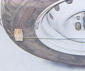 проверка схождения колес на автомобиле ваз 2107
