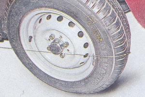 проверка угла схождения колес ваз 2107