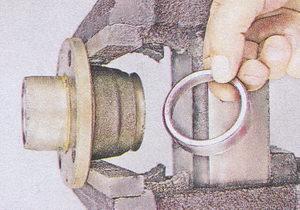 внутреннее кольцо подшипника ступицы