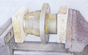 запрессовка наружного кольцо подшипника ступицы