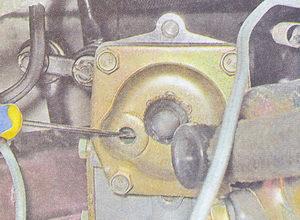 проверка уровня масла в рулевом редукторе ваз 2107