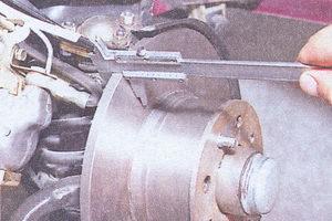 тормозной диск ваз 2107