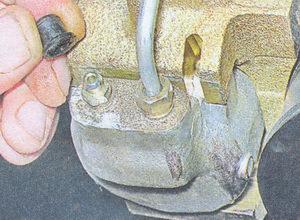 рабочий тормозной цилиндр ваз 2107