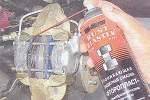 тормозной механизм ваз 2107