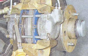 направляющие пальцы тормозного механизма ваз 2107