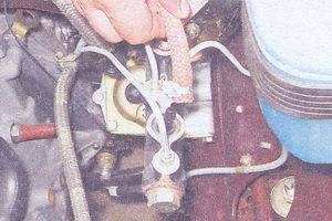 два гибких шланга главного тормозного цилиндра ваз 2107