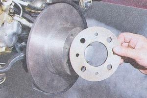 дистанционное кольцо тормозного диска