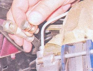 тормозной шланг - болт, медные уплотнительные шайбы
