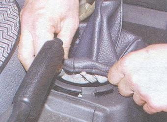 защитный чехол рычага переключения передач