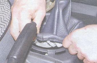 чехол рычага переключения передач