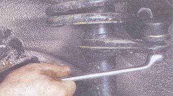 гайку крепления шарового шарнира рулевой тяги ваз 2108, - 2109, -21099