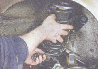 передняя стойка ваз 2108, - 2109, -21099