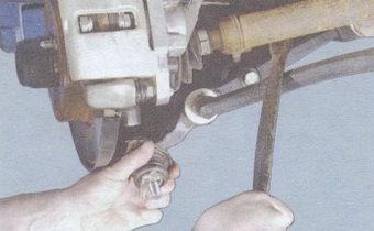 снятие шаровой опоры ваз 2108, - 2109, -21099