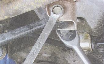 гайка крепления рычага передней подвески к кронштейну кузова автомобиля ваз 2108, - 2109, -21099