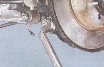 гайка заднего крепления растяжки ваз 2108, - 2109, -21099