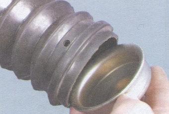 крышка - пыльник задней стойки амортизатора
