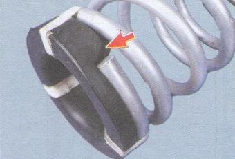 изолирующая прокладка пружины задней подвески