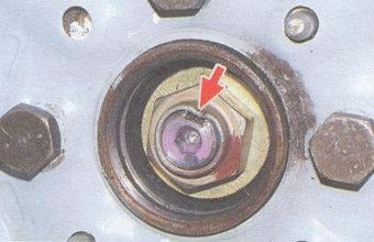 гайка ступицы заднего колеса ваз 2108, - 2109, - 21099