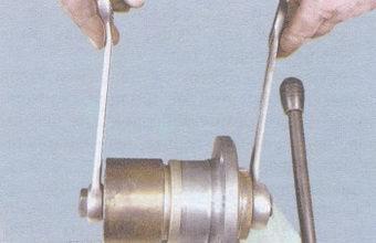 выпрессовка подшипника из ступицы