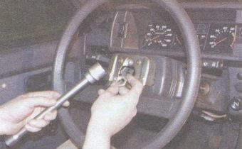 гайка крепления рулевого колеса