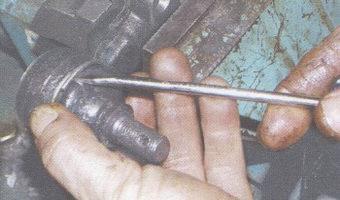 пружинное кольцо пыльника рулевого наконечника