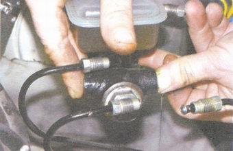 прокачка главного тормозного цилиндра ваз 2108, ваз 2109, ваз 21099