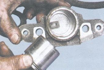 поршень - тормозной цилиндр ваз 2108, ваз 2109, ваз 21099