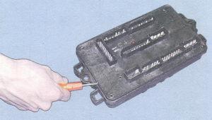 нижняя крышка монтажного блока