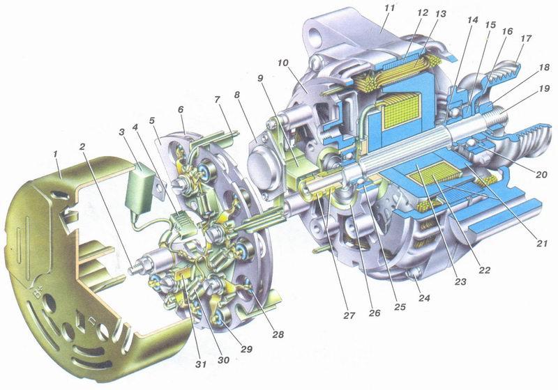 Генератор автомобиля ваз 2108 ваз 2109 новинка яндекс найдется все схема соединений генератор ваз 2108 схема.