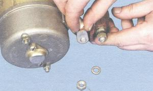 наконечник вывода обмотки статора стартера