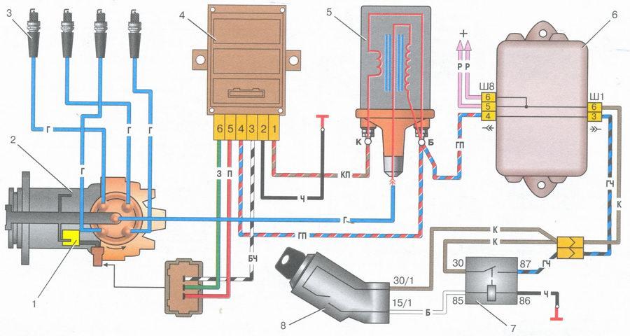 электрическая схема регулятора напряжения 24в