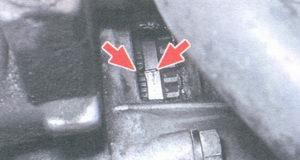 установка угла зажигания по метке на маховике