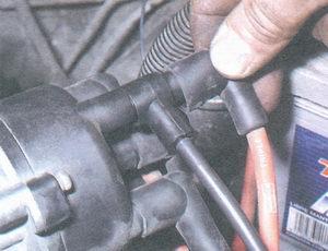 наконечник высоковольтного провода